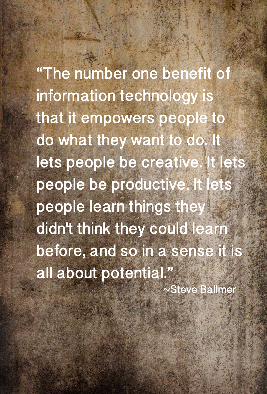 quote about creativity and technology